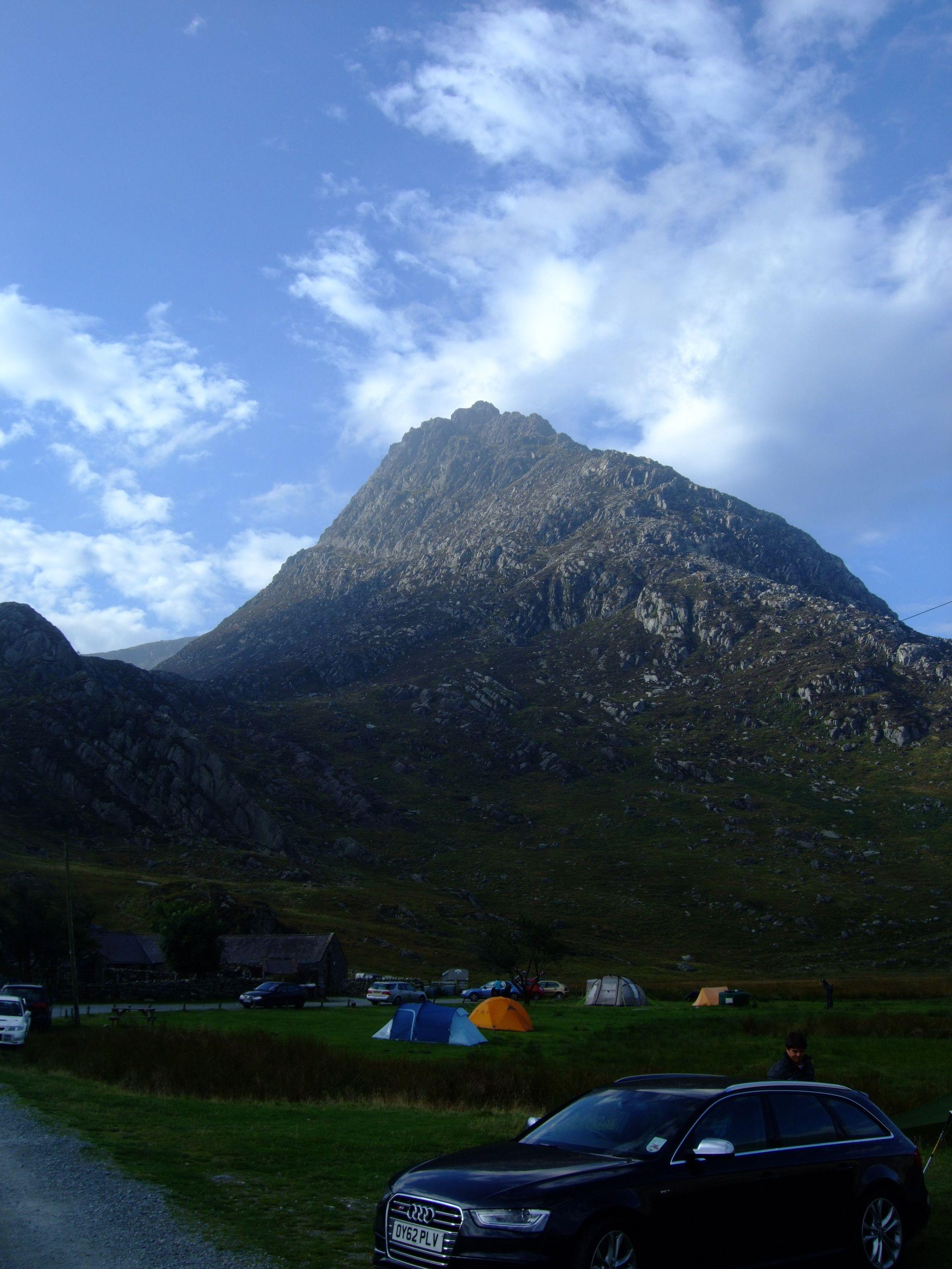 camping pod Tryfanem