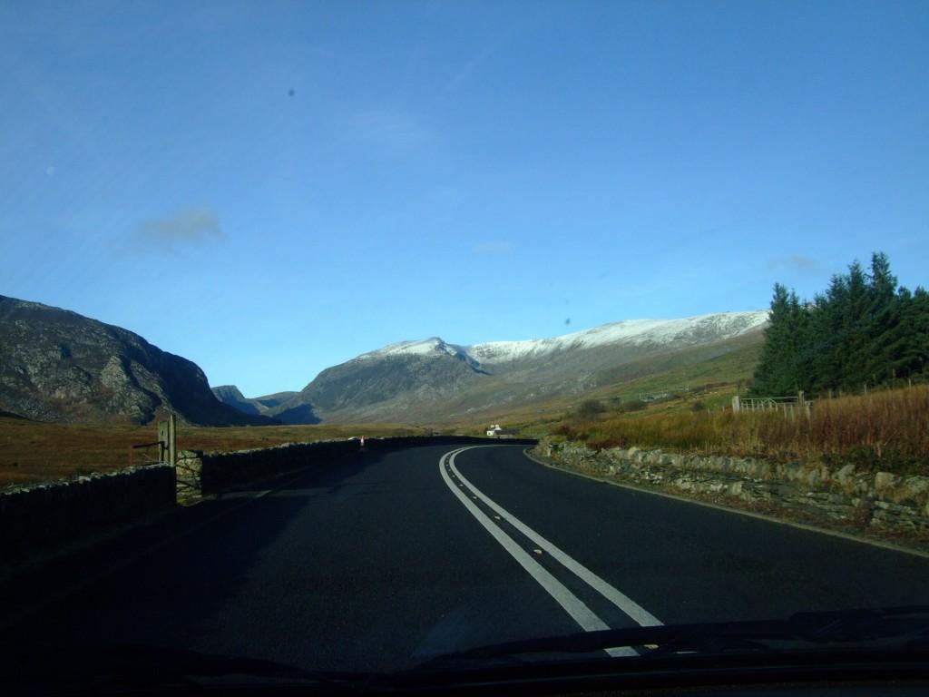 Śnieg w Walii. Miało nie być...